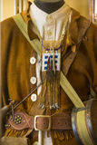 Original frontier mans outfit Royalty Free Stock Photo