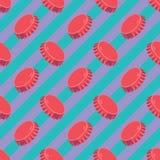 Original geometric modern pop-art bung pattern royalty free illustration