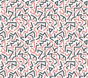 Original geometric modern pop-art pattern vector illustration
