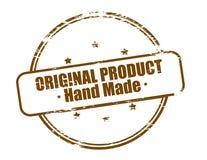 Original- gjord produkthand - royaltyfri illustrationer