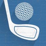 Original golf symbol Stock Photo