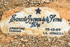 Original Grave of Ernesto Che Guevara Stock Photography