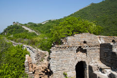 Original Great Wall of China Stock Photo