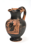 Original Greek vase from archaeological stock images