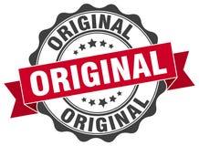 Original stamp. Original grunge stamp on white background Royalty Free Stock Images