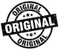Original stamp. Original grunge stamp on white background Royalty Free Stock Photos
