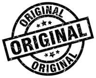 Original stamp. Original grunge stamp on white background Stock Photography