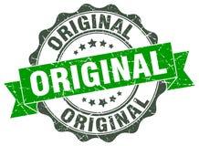 Original stamp. Original grunge stamp on white background Stock Image