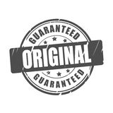 Original guaranteed vector stamp Royalty Free Stock Image