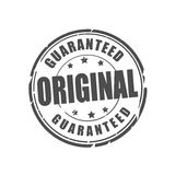 Original guaranteed vector stamp Stock Images