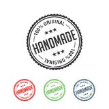 100% Original Handmade Authentic Label Badge vector. Y Vector graphic design vector illustration
