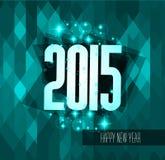 Original 2015 happy new year modern background Stock Photo