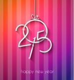 Original 2015 happy new year modern background Royalty Free Stock Photos