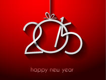 Original 2015 happy new year modern background Royalty Free Stock Photography