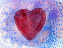 Original Heart Background Texture. Royalty Free Stock Photography