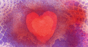 Original Heart Background Texture. Stock Image
