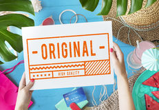 Original High Quality Stamp Sign Concept Royalty Free Stock Images