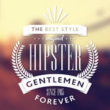 Original Hipster Style Poster Royalty Free Stock Photos