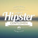Original Hipster Style Poster Stock Photos