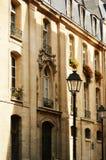 Original historic Parisian architecture Stock Photos