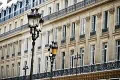 Original historic Parisian architecture Royalty Free Stock Images
