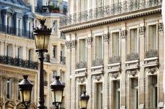 Original historic Parisian architecture Stock Images