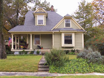 Original home owned by Bill and Hillary Clinton. In Little Rock AR royalty free stock photos