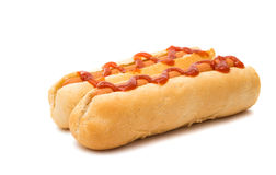 Original hot dog Royalty Free Stock Photos