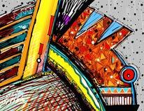 Original illustration of abstract art digital Royalty Free Stock Photos
