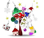 Original illustration of Christmas Royalty Free Stock Photography