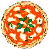 Original italian pizza Royalty Free Stock Photo