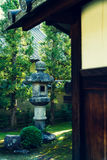 Original japanese garden Royalty Free Stock Photography