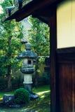 Original- japanträdgård royaltyfri fotografi