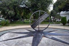 The original Kilometer Zero in Bucharest, Romania Royalty Free Stock Photos
