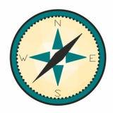 Original- kompasssymbol Fotografering för Bildbyråer