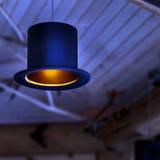 Original lamp in the mini bar Stock Photo