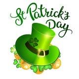 Original lettering St. Patricks Day Stock Image