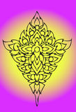 Original line thai Royalty Free Stock Image