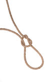 The original loop made ​​of sturdy rope for hanging. Stock Photography
