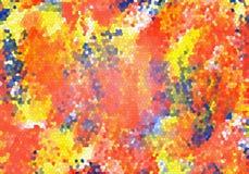Original- målarfärg för konsttexturvattenfärgen tappar abstrakt expressionism för fläckar stock illustrationer