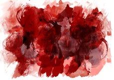 Original- målarfärg för konsttexturvattenfärgen tappar fläckabstrakt begrepp Abstrakt expressionism för textur stock illustrationer