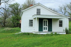 Original Mormon Trail Ferry House Royalty Free Stock Photos