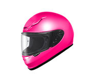 Original Motorcycle Helmet Stock Photo
