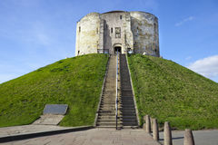 Cliffords Tower - York Stock Image