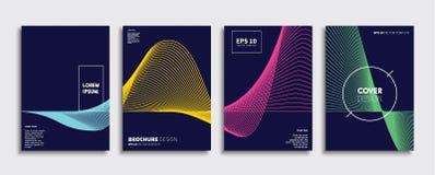 Original new minimal covers design stock illustration