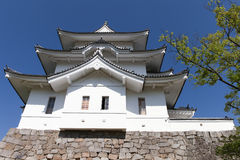 The original Ninja castle of Iga Ueno stock photo
