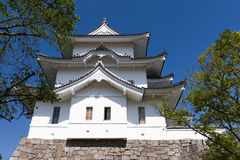 The original Ninja castle of Iga Ueno royalty free stock photos