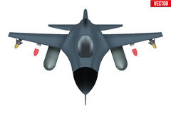Original- nivå för bombplanflygplan Arkivfoton