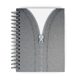 Original notepad  on white background. 3d rendering Stock Images