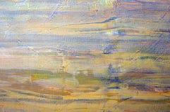 Original oil painting Stock Photo
